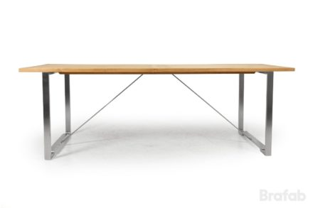 """Brafab """"Gotland"""" Gartentisch, Gestell Edelstahl, Tischplatte Teakholz"""