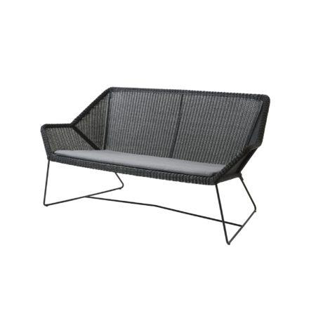 "Cane-line Sitzkissen für Loungesofa ""Breeze"", Cane-line Sunbrella® Natté, grau"