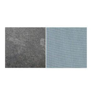 Fischer Möbel fm-laminat Spezial Graphito - Stoff Sunbrella Natte weatherproof Frosty Chine 10025W