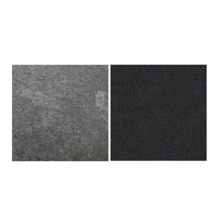Fischer Möbel fm-laminat Spezial Graphito - Stoff Sunbrella Natte weatherproof Sooty Antracite 10030W
