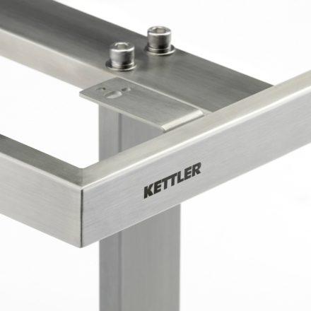 "Kettler ""Skate"" Gartentisch, Tischgestell Edelstahl"