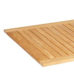 SonnenPartner Tischplatte Pure Natur Teak