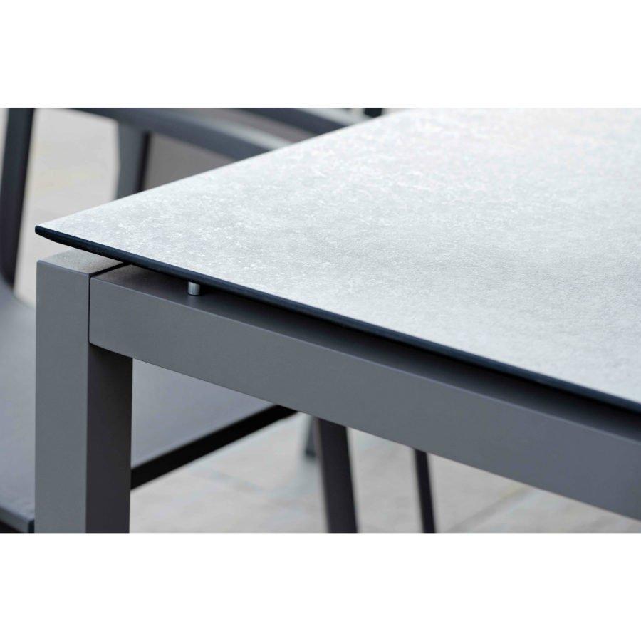 Stern Gartenmobel Set Mit Stuhl Greta Und Tisch Aluminium Hpl