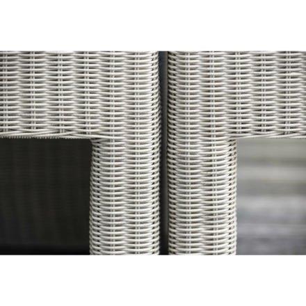 """Stern Serie """"Noel"""", Gestell Aluminium, Geflecht Vintage weiß"""