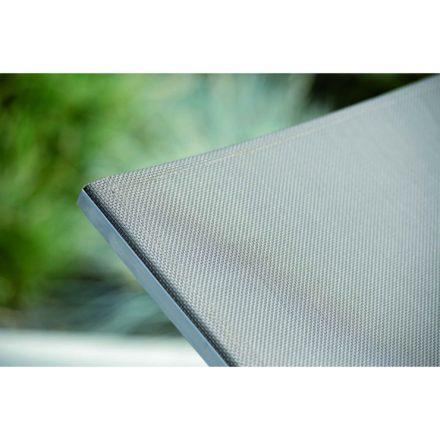 """Stern Sonnenliege """"Allround"""", Gestell Edelstahl, Textilgewebe taupe"""