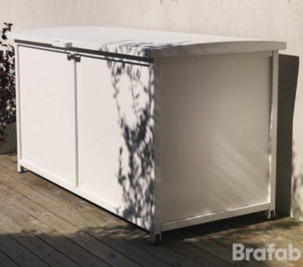 """Brafab Kissenbox """"Grasse"""" Aluminium weiß"""