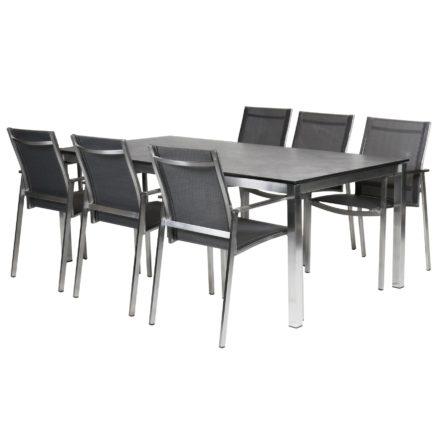 """Diamond Garden Gartenmöbel-Set mit Stuhl """"Gaco"""" und Tisch """"San Marino"""""""