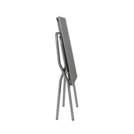 """Lafuma """"Anytime"""" Klapptisch 68x64 cm, Gestell Titane, Tischlpatte HPL, zusammengeklappt"""