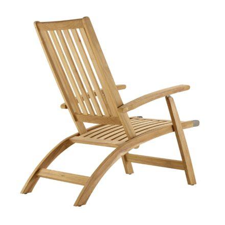 "Solpuri ""Windsor"" Deckchair aus Teakholz"