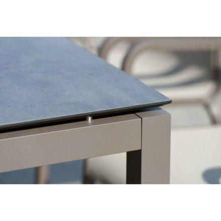 Stern Gartentisch Aluminium taupe/HPL smoky