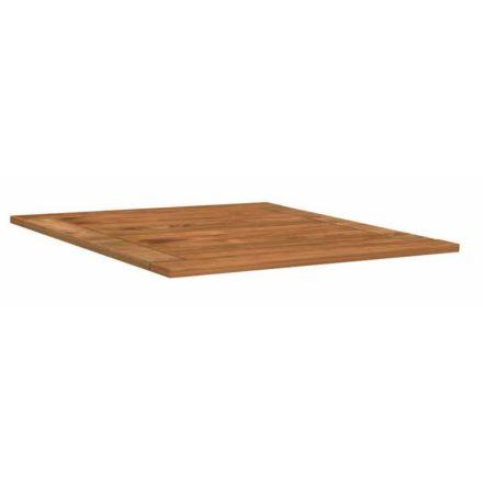 Stern Tischplatte Teakholz, 80x80 cm