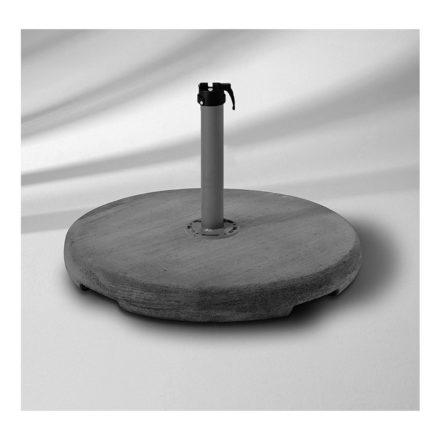 Betonsockel Z, 90 kg, (Abb. inkl. Standrohr Z) von GLATZ (© by GLATZ AG, Schweiz)