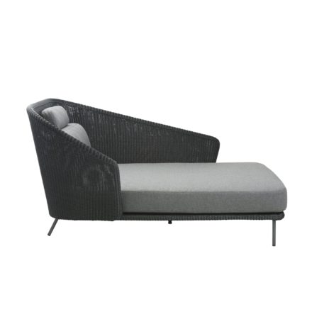 "Cane-line Daybed ""Mega"", links, Polyrattan graphit"