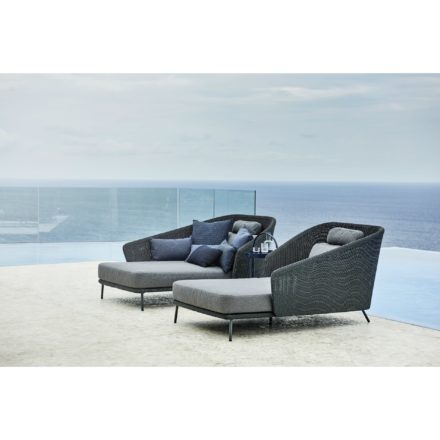 "Cane-line Daybed ""Mega"", Polyrattan graphit"