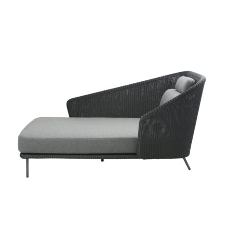 "Cane-line Daybed ""Mega"", rechts, Polyrattan graphit"
