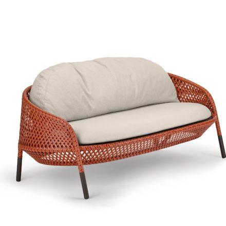 "DEDON 2-Sitzer Sofa ""AHNDA"", Gestell Aluminium, DEDON Faser elemental"