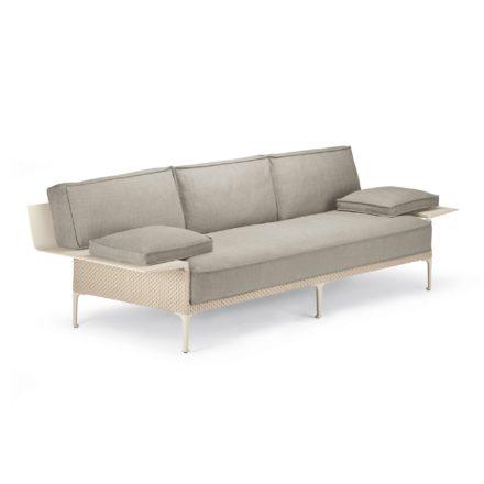 "DEDON 3er Sofa ""RAYN"", Gestell Aluminium, DEDON Faser salina"
