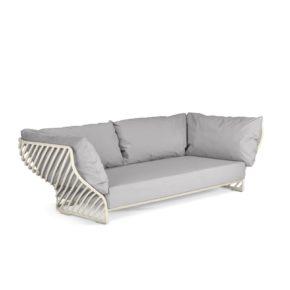 """DEDON Sofa """"TIGMI"""", Gestell Aluminium pulverbeschichtet Farbe lipari"""