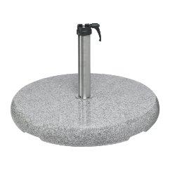 Granitsockel Z, 40 kg, mit Standrohr Z von GLATZ (© by GLATZ AG, Schweiz)