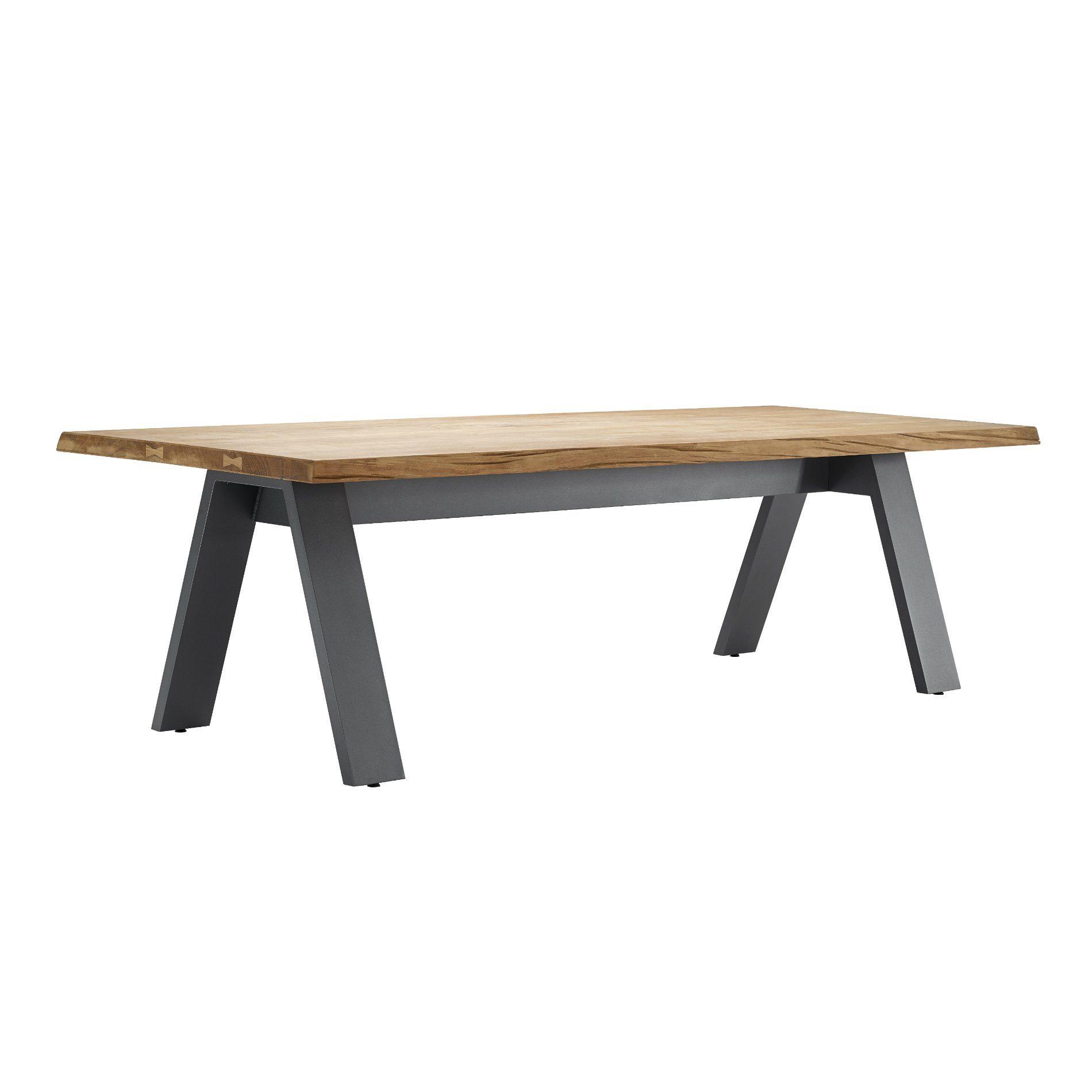 Solpuri timber gartentisch aluminium teakholz for Gartentisch aluminium