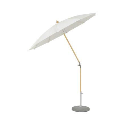 """Sonnenschirm """"ALEXO® """", rund, ohne Volant, von GLATZ, Dessin 500 - Plaster (© by GLATZ AG, Schweiz)"""