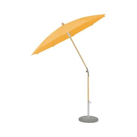 """Sonnenschirm """"ALEXO® """", rund, ohne Volant, von GLATZ, Dessin 514 - Corn (© by GLATZ AG, Schweiz)"""