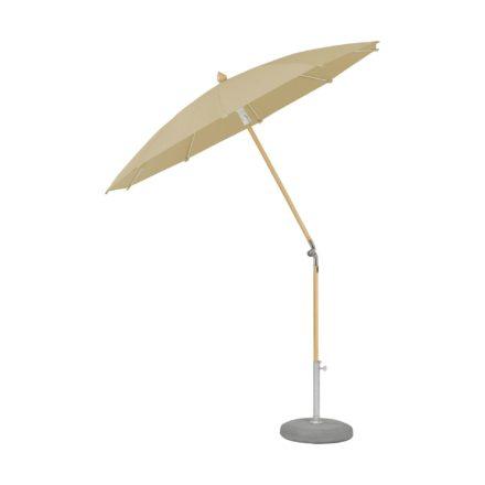 """Sonnenschirm """"ALEXO® """", rund, ohne Volant, von GLATZ, Dessin 526 - Bamboo (© by GLATZ AG, Schweiz)"""