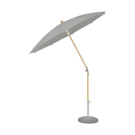 """Sonnenschirm """"ALEXO® """", rund, ohne Volant, von GLATZ, Dessin 527 - Urban Chrome (© by GLATZ AG, Schweiz)"""