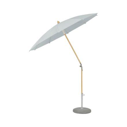 """Sonnenschirm """"ALEXO® """", rund, ohne Volant, von GLATZ, Dessin 665 - Chrome (© by GLATZ AG, Schweiz)"""