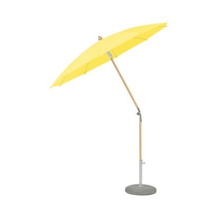 """Sonnenschirm """"ALEXO® """", rund, ohne Volant, von GLATZ, Dessin 680 - Pineapple (© by GLATZ AG, Schweiz)"""