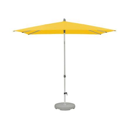 """Sonnenschirm """"Alu-Smart easy"""", quadratisch, von GLATZ, Dessin 146 - Bright Yellow (© by GLATZ AG, Schweiz)"""