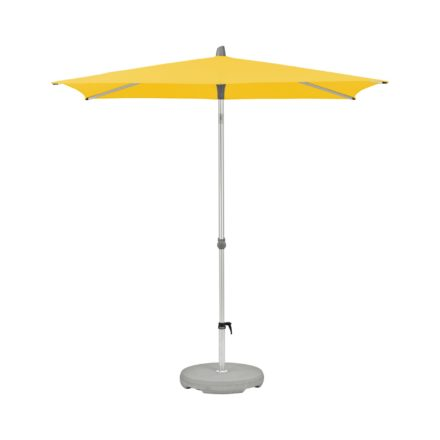 """Sonnenschirm """"Alu-Smart easy"""", rechteckig, von GLATZ, Dessin 146 - Bright Yellow (© by GLATZ AG, Schweiz)"""