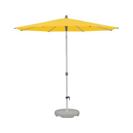 """Sonnenschirm """"Alu-Smart easy"""", rund, von GLATZ, Dessin 146 - Bright Yellow (© by GLATZ AG, Schweiz)"""