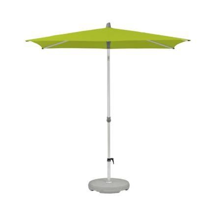 """Sonnenschirm """"Alu-Smart"""", rechteckig, von GLATZ, Dessin 654 - Kiwi (© by GLATZ AG, Schweiz)"""