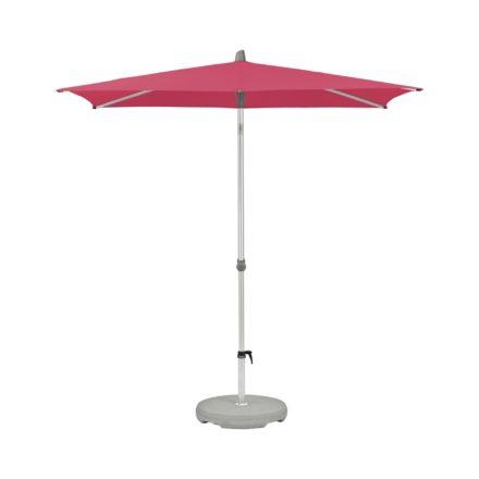 """Sonnenschirm """"Alu-Smart"""", rechteckig, von GLATZ, Dessin 681 - Pink (© by GLATZ AG, Schweiz)"""
