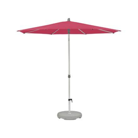 """Sonnenschirm """"Alu-Smart"""", rund, von GLATZ, Dessin 681 - Pink (© by GLATZ AG, Schweiz)"""