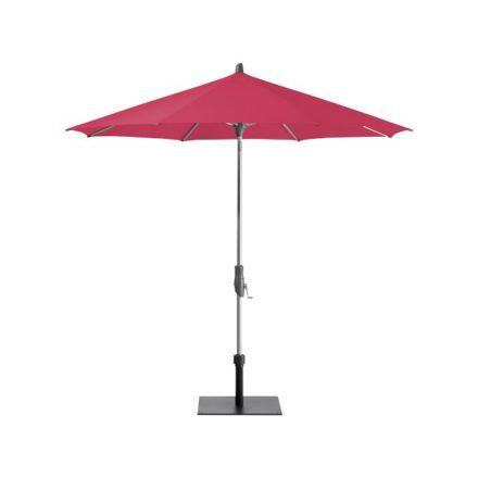 """Sonnenschirm """"Alu-Twist"""", rund, von GLATZ, Dessin 681 - Pink (© by GLATZ AG, Schweiz)"""