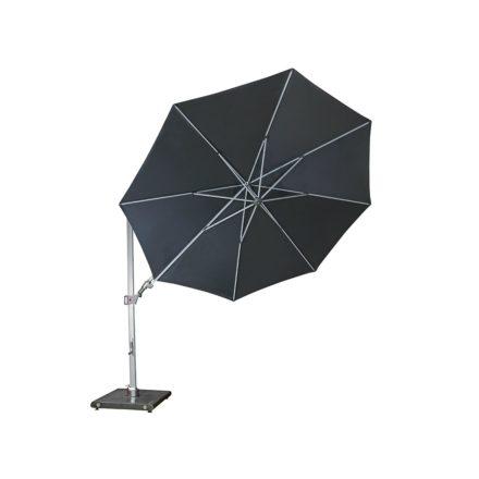 """Sonnenschirm """"Pendel"""", rund, von Knirps, Farbe 12 - Dunkelgrau"""