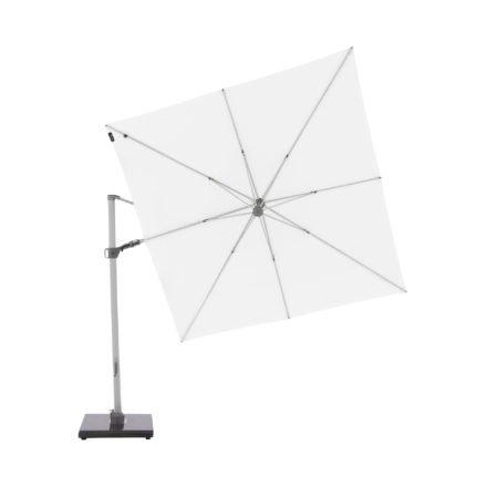 """Knirps Sonnenschirm """"Pendular"""", eckig, 275x275 cm, Farbe 07 - Weiß"""