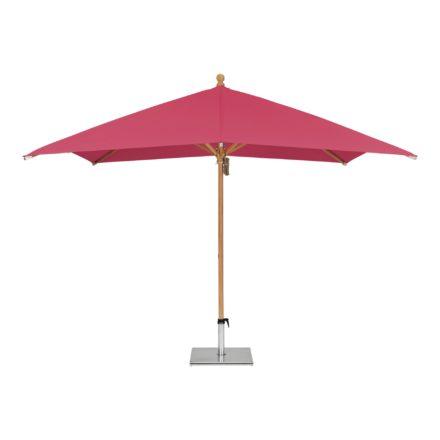 """Sonnenschirm """"PIAZZINO """", quadratisch, von GLATZ, Dessin 681 - Pink (© by GLATZ AG, Schweiz)"""