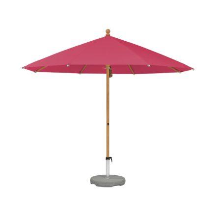 """Sonnenschirm """"PIAZZINO """", rund, von GLATZ, Dessin 681 - Pink (© by GLATZ AG, Schweiz)"""