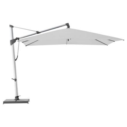 """Sonnenschirm """"SOMBRANO® S+"""", quadratisch, von GLATZ, Dessin 510 - White (© by GLATZ AG, Schweiz)"""