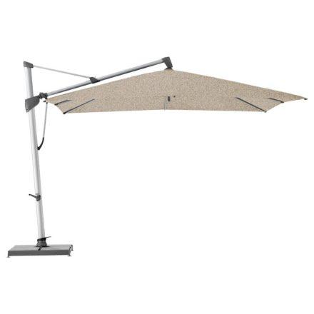 """Sonnenschirm """"SOMBRANO® S+"""", quadratisch, von GLATZ, Dessin 650 - Camel Melange (© by GLATZ AG, Schweiz)"""