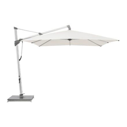 """Sonnenschirm """"SOMBRANO® S+"""", rechteckig, von GLATZ, Dessin 404 - White (© by GLATZ AG, Schweiz)"""