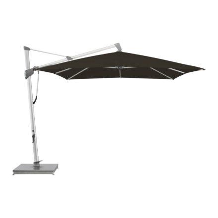 """Sonnenschirm """"SOMBRANO® S+"""", rechteckig, von GLATZ, Dessin 408 - Black (© by GLATZ AG, Schweiz)"""