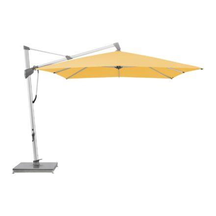 """Sonnenschirm """"SOMBRANO® S+"""", rechteckig, von GLATZ, Dessin 438 - Straw (© by GLATZ AG, Schweiz)"""