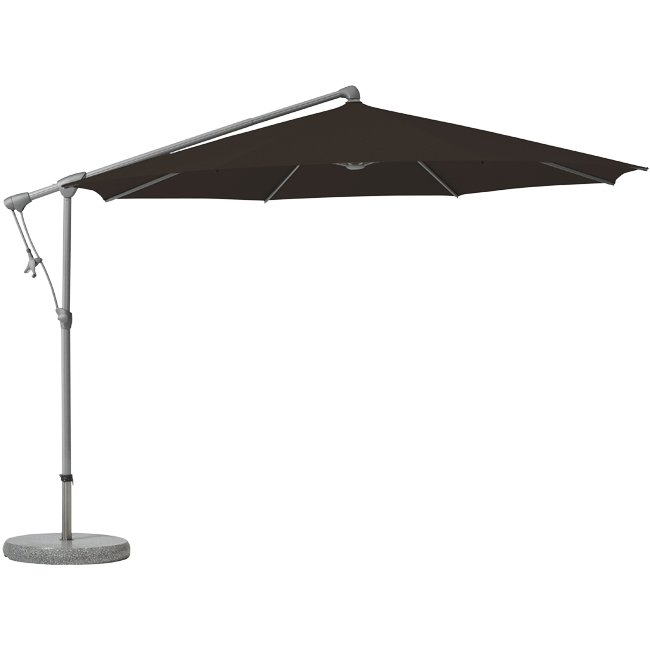 glatz sunwing c sonnenschirm ampelschirm stoffklasse 4 rund. Black Bedroom Furniture Sets. Home Design Ideas