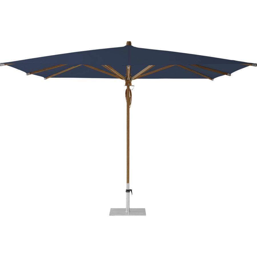 Glatz Fortino Sonnenschirm Marktschirm Stoffklasse 4 Quadratisch