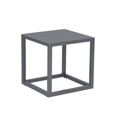 """Stern """"Robin"""" Beistelltisch, Gestell und Tischplatte aus Aluminium graphit"""