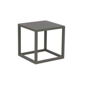 """Stern """"Robin"""" Beistelltisch, Gestell und Tischplatte aus Aluminium taupe"""